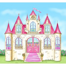 Papier-peint Chateau de princesse